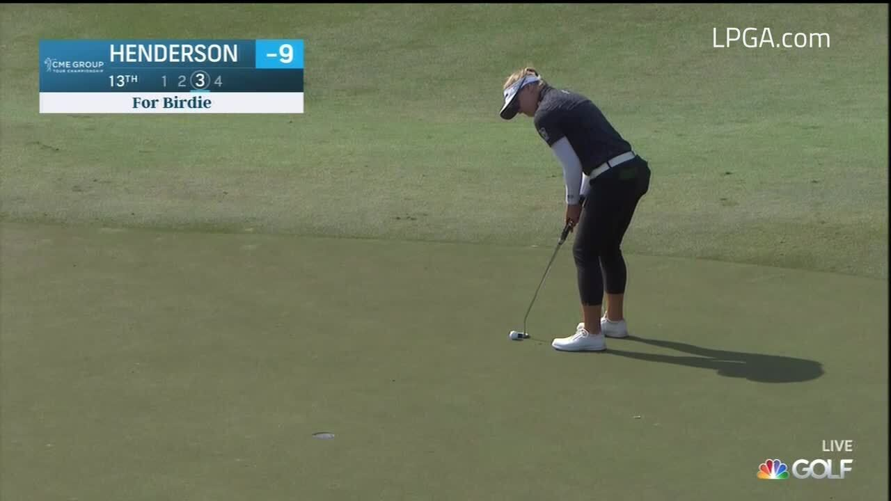 Brooke Henderson Final Round Highlights at the CME Group Tour Championship