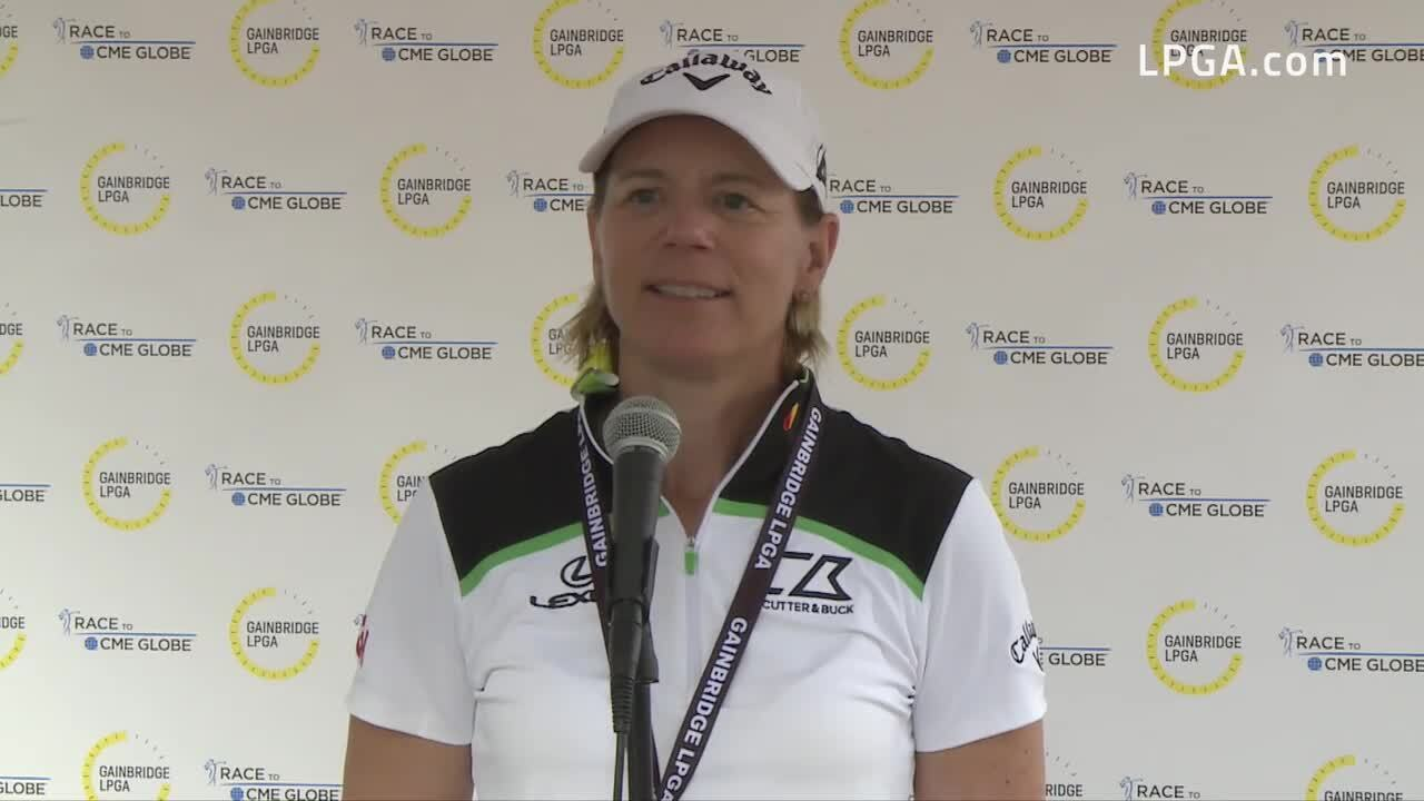 Annika Sorenstam Third Round Interview at the 2021 Gainbridge LPGA
