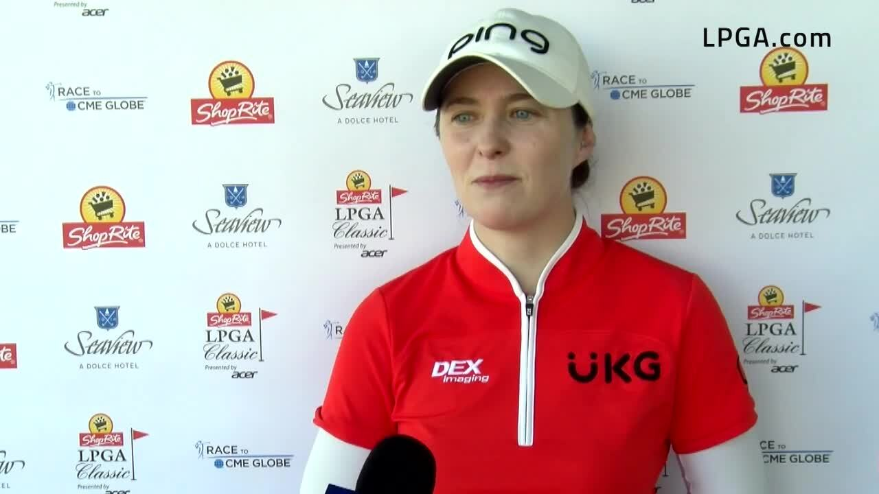 Brittany Altomare First Round Interview at the ShopRite LPGA Classic