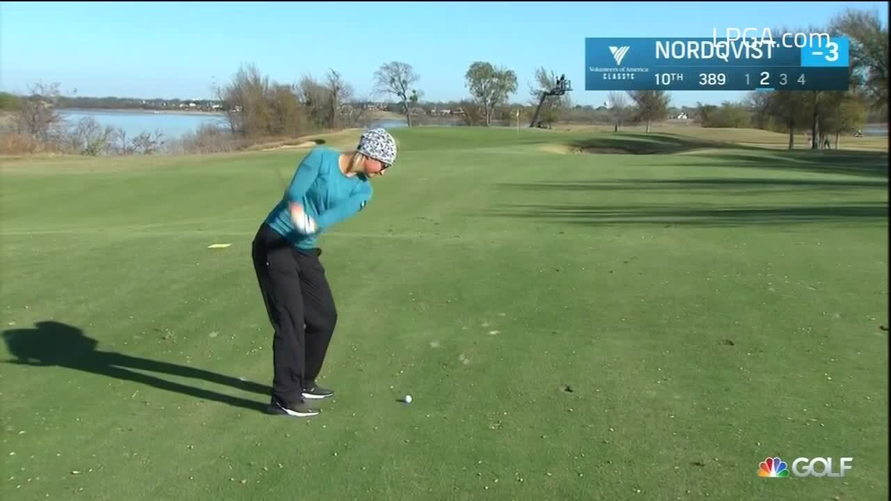 Anna Nordqvist Second Round Highlights at the 2020 Volunteers of America Classic