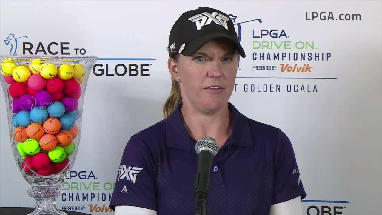 Austin Ernst Final Round Interview at the 2021 LPGA Drive On Championship presented by Volvik