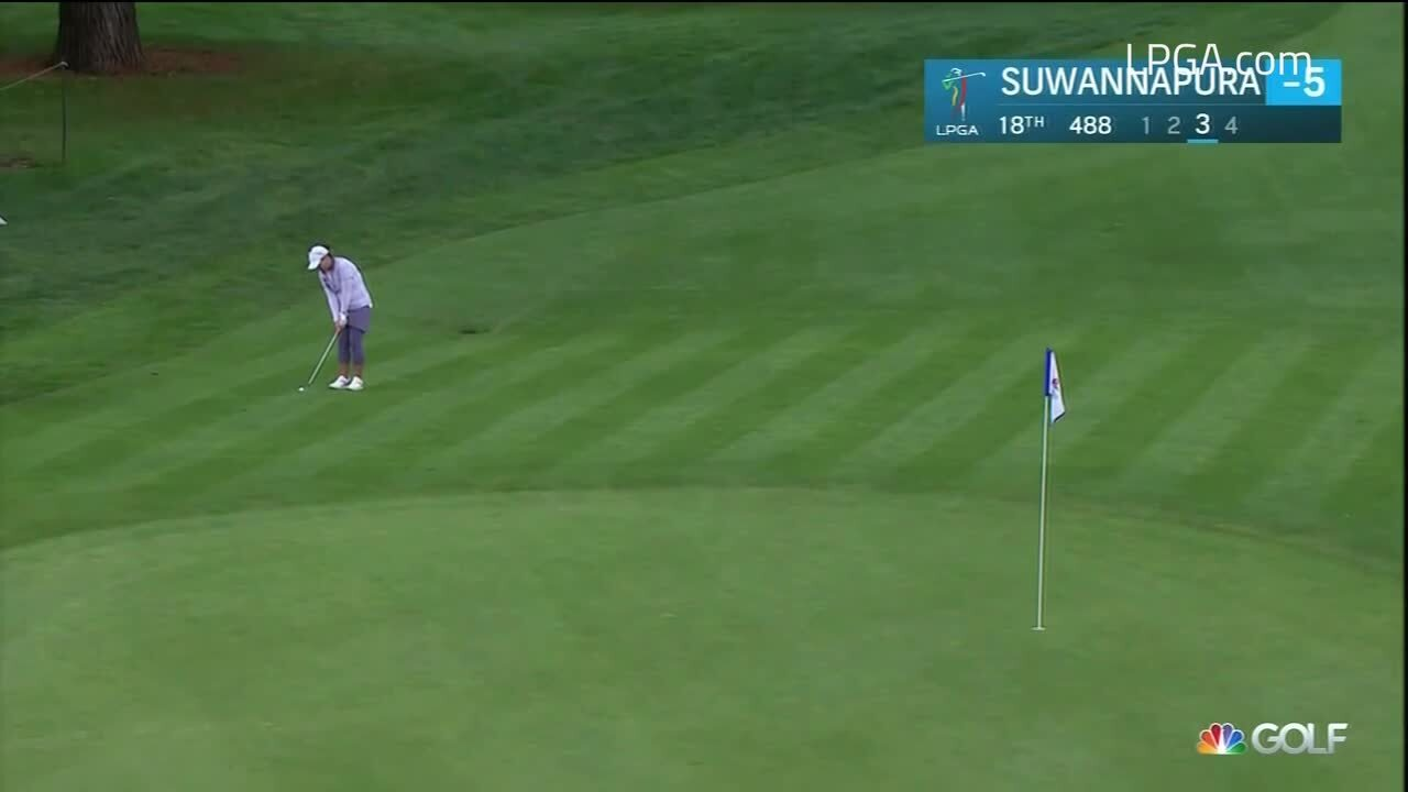 UL Innovative Shots of the Day - Cambia Portland Classic Round 2