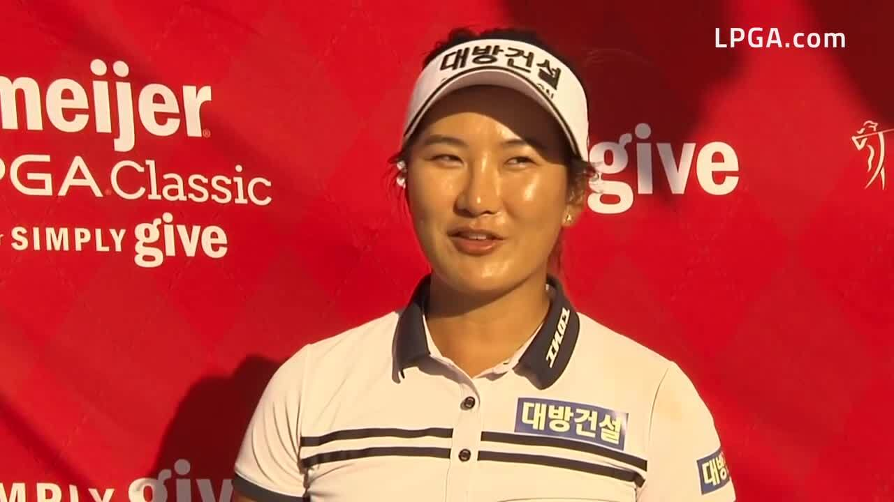 So Oh Second Round Interview at the 2021 Meijer LPGA Classic