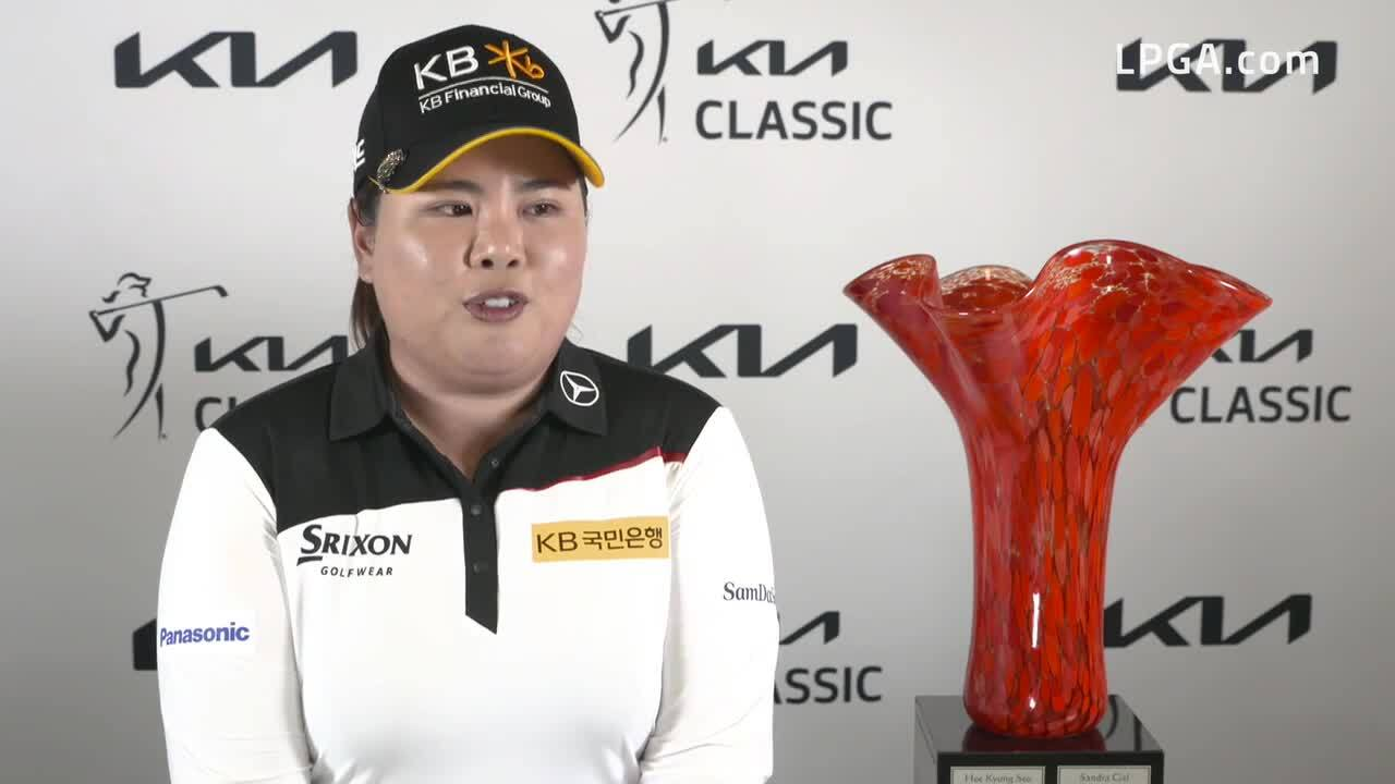 Inbee Park Winner's Interview at the Kia Classic