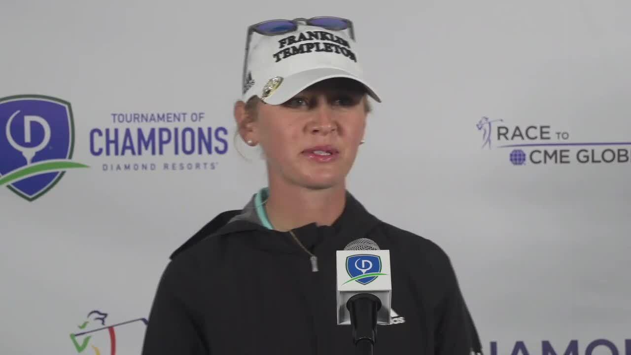 Jessica Korda Third Round Interview at the 2021 Diamond Resorts Tournament of Champions