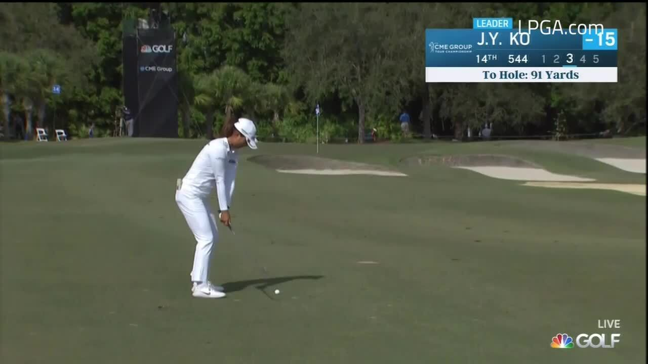 Jin Young Ko Final Round Highlights at the CME Group Tour Championship