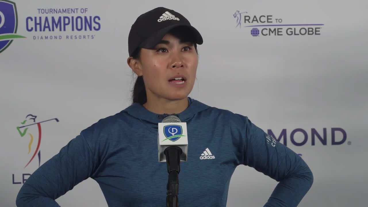 Danielle Kang Third Round Interview at the 2021 Diamond Resorts Tournament of Champions