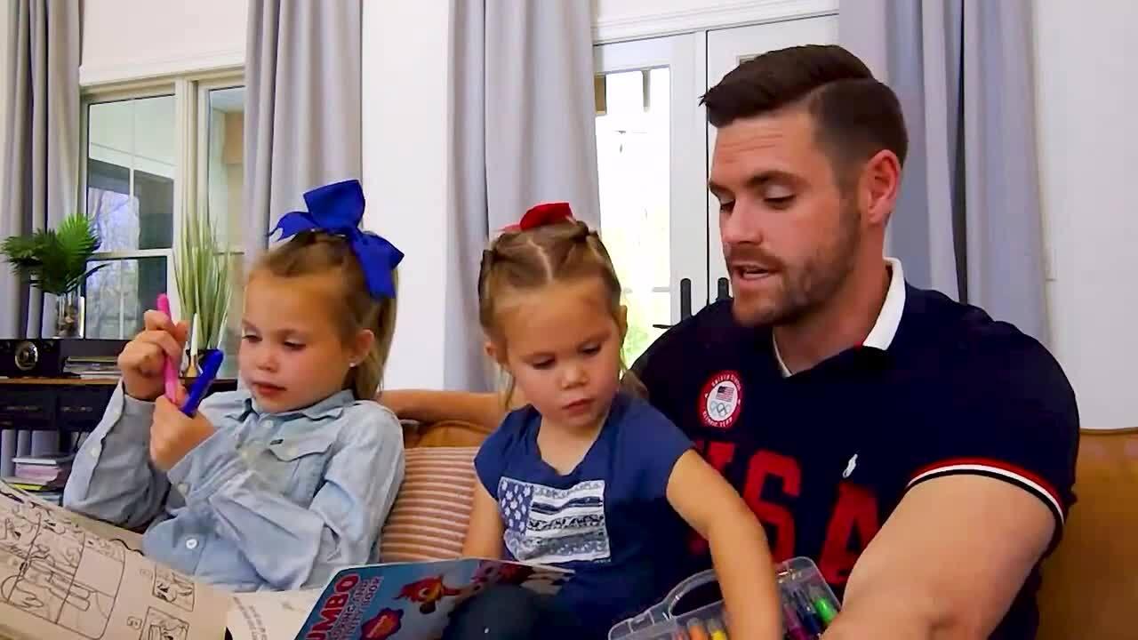 Kickin it with the Kids | David Boudia