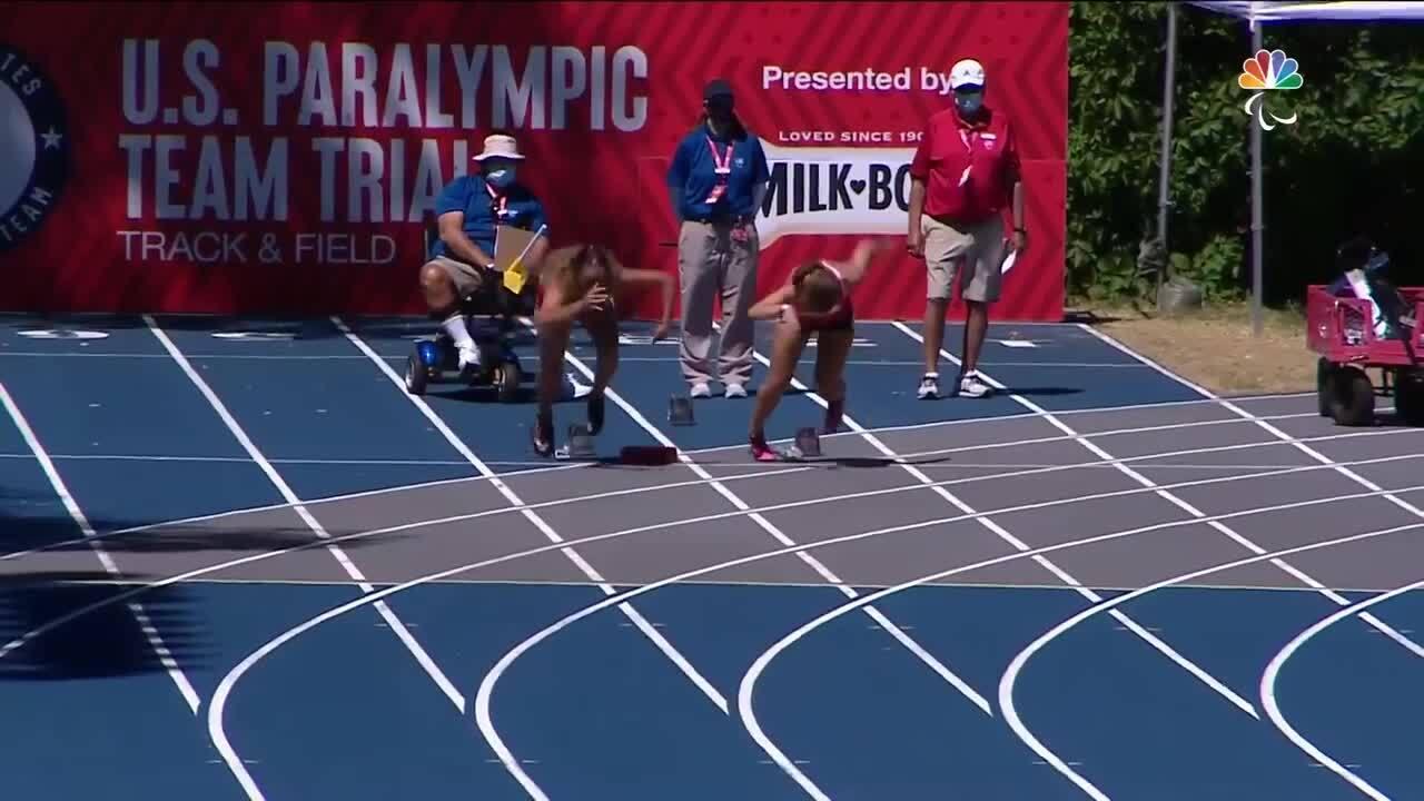 Para Track & Field Women's 100-Meter T37 Final | U.S. Paralympic Team Trials 2021