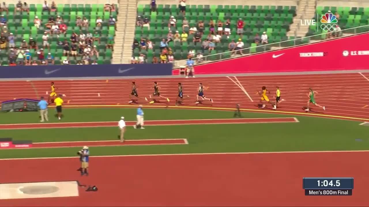 Clayton Murphy Mens 800M Final | Track & Field U.S. Olympic Team Trials 2021