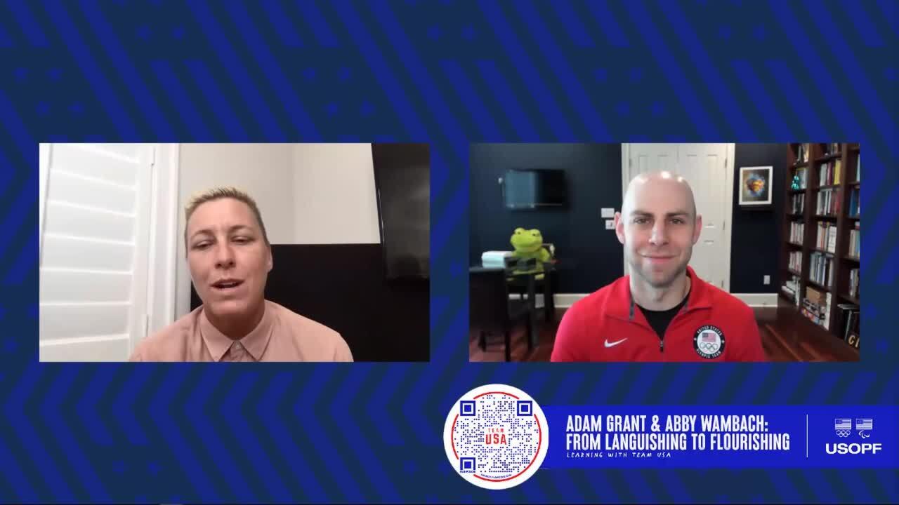Adam Grant & Abby Wambach: From Languishing to Flourishing