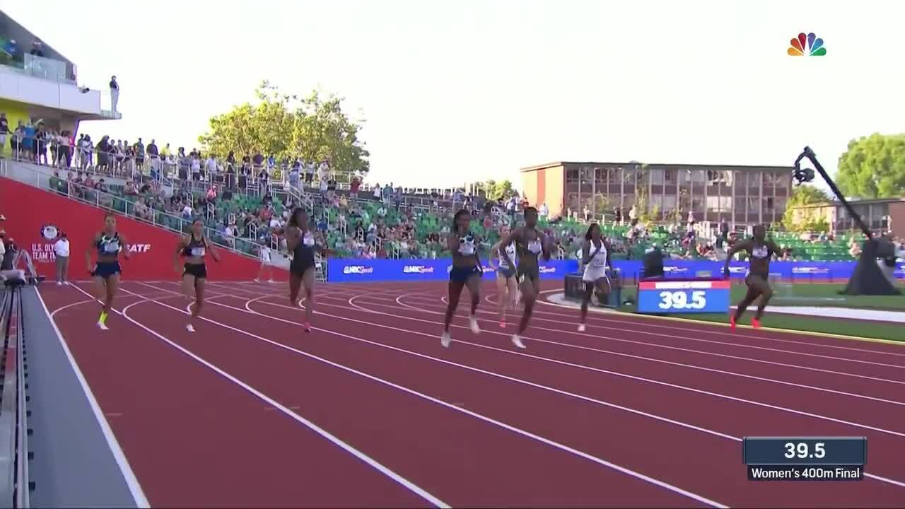 Quanera Hayes Womens 400M   Track & Field U.S. Olympic Team Trials 2021