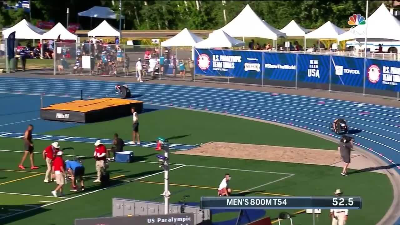 Para Track & Field Men's 800-Meter T54 | U.S. Paralympic Team Trials 2021