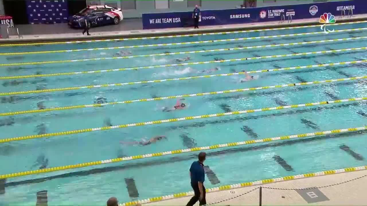 Para Swimming Women's 100-Meter Freestyle S9 Hannah Aspden   U.S. Paralympic Team Trials 2021