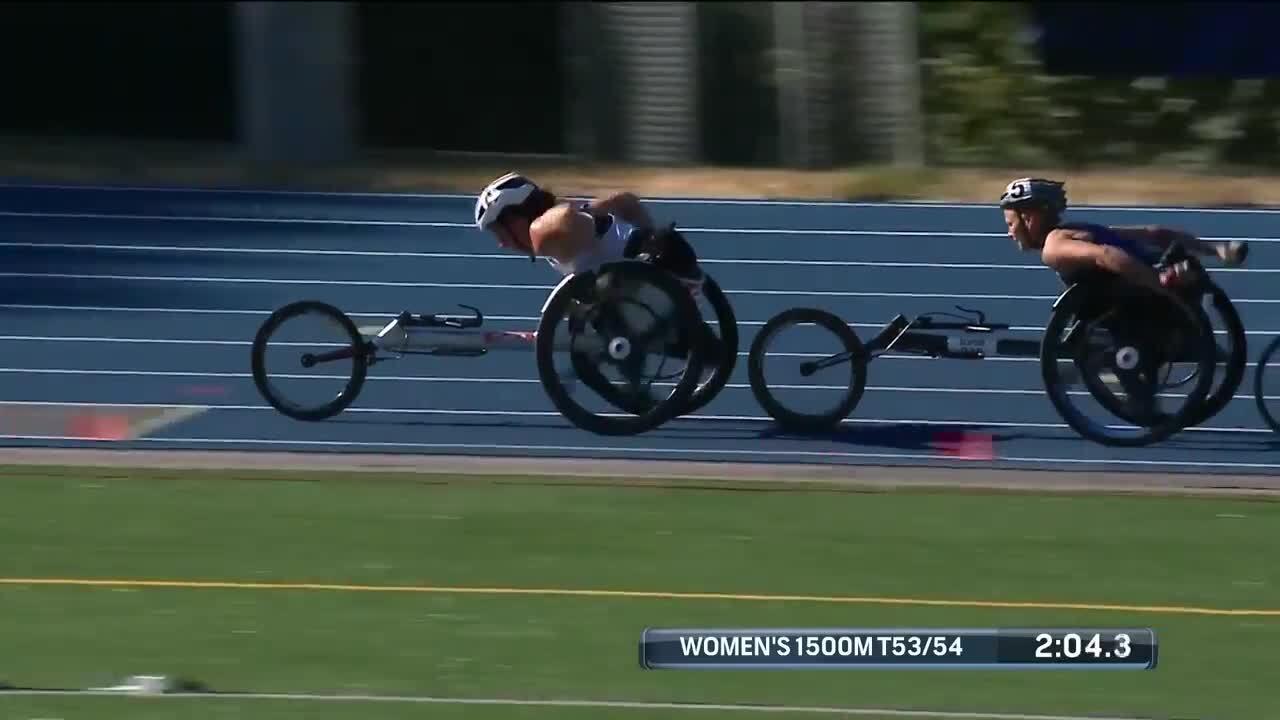 Para Track & Field Women's 1,500-Meter T53/54 Final | U.S. Paralympic Team Trials 2021