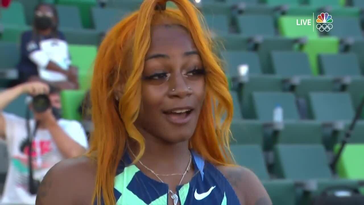 Sha'Carri Richardson 100-Meter | Track & Field U.S. Olympic Team Trials 2021