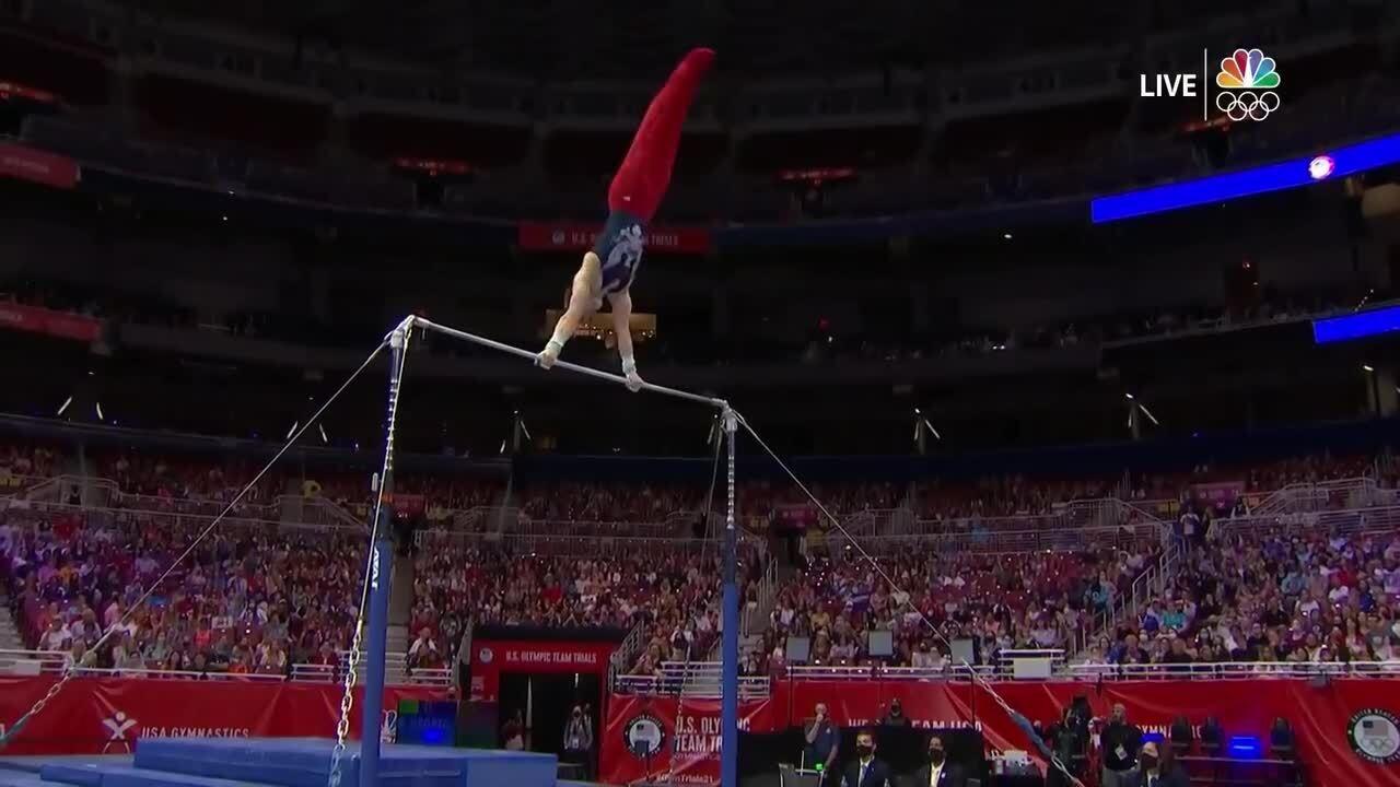 Shane Wiskus High Bar Day 2 | Gymnastics U.S. Olympic Team Trials 2021