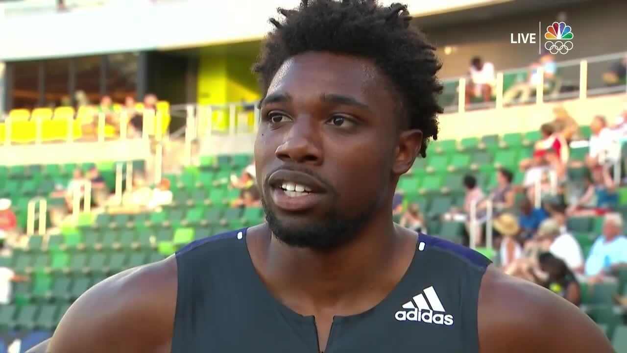 Noah Lyles Interview After 200 Meter Semifinal | Track & Field U.S. Olympic Team Trials 2021