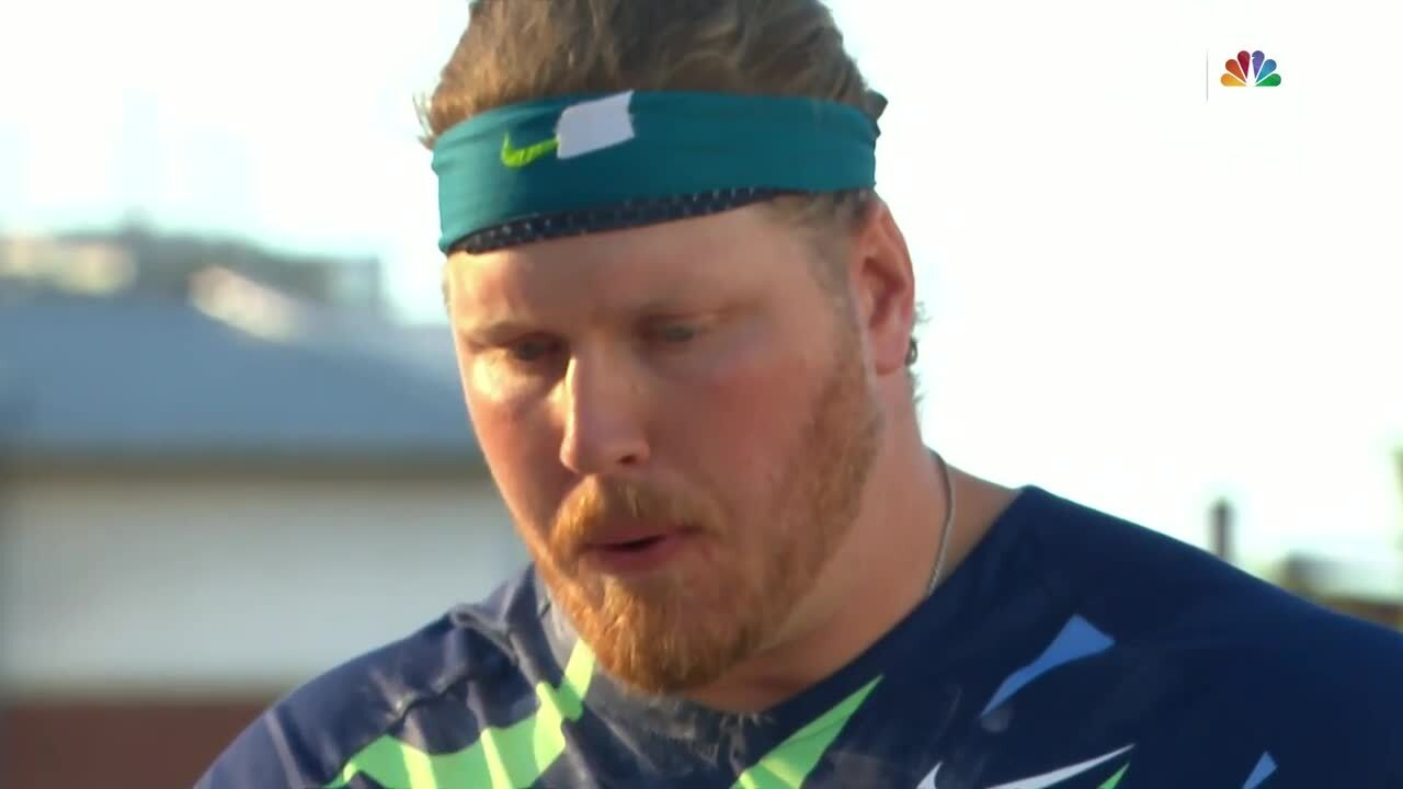 Ryan Crouser Inteview After He Breaks Shot Put World Record | Track & Field U.S. Olympic Team Trials 2021