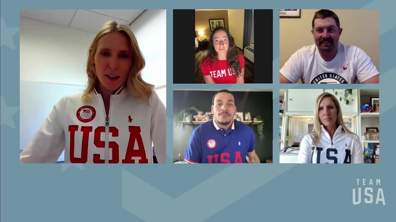 Tatyana McFadden, Brady Ellison, Roderick Townsend, Liz Halliday-Sharp | Tokyo 2020 Team USA Virtual Media Summit