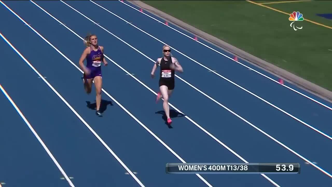 Para Track & Field Women's 400-Meter T13/38 Final | U.S. Paralympic Team Trials 2021
