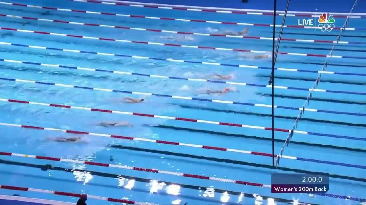 Women's 200-Meter Backstroke | Swimming U.S. Olympic Team Trials 2021