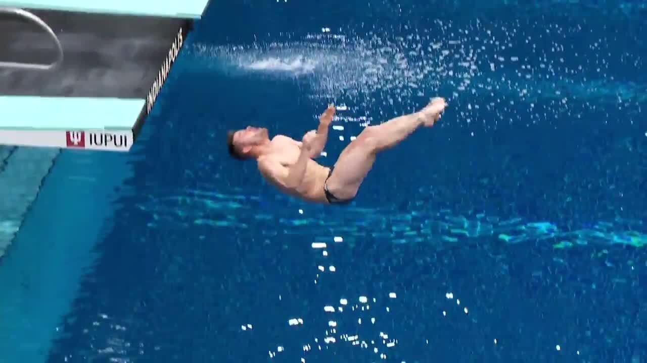 David Boudia Dive #5 - 3-Meter Springboard Semifinals | Diving U.S. Olympic Team Trials 2021