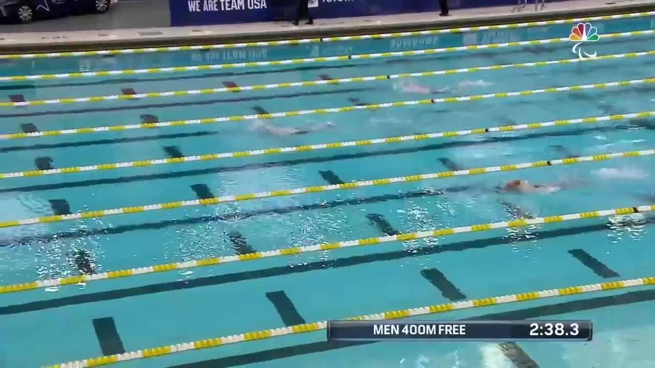 Para Swimming Men's 400-Meter Freestyle S8 Matthew Torres   U.S. Paralympic Team Trials 2021