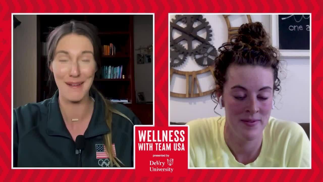 Wellness with Team USA, presented by DeVry | Mental Helath