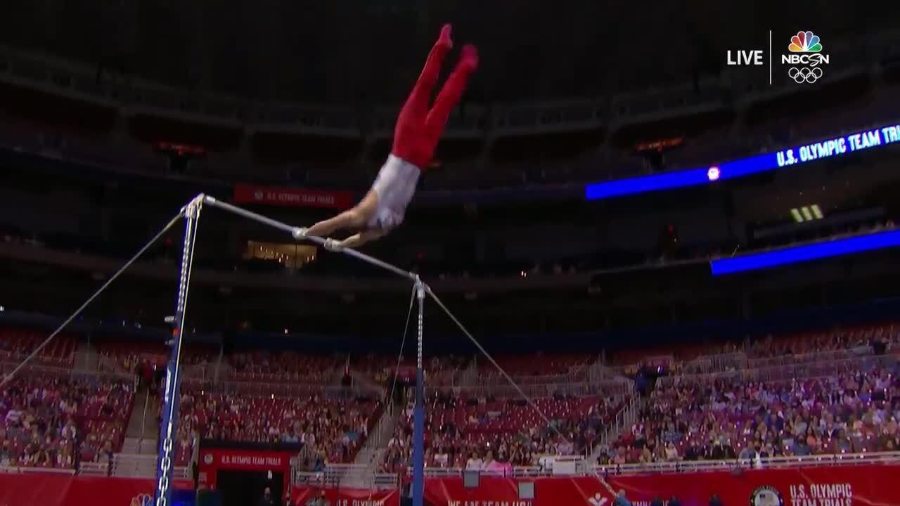 Sam Mikulak High Bar Day 1 | Gymnastics U.S. Olympic Team Trials 2021