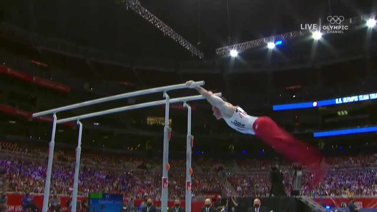 Brody Malone Parallel Bars Day 2 | Gymnastics U.S. Olympic Team Trials 2021
