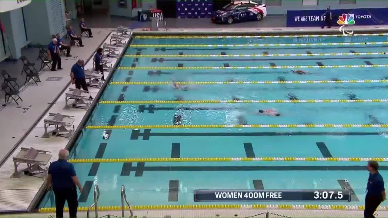 Para Swimming Women's 400-Meter Freestyle S6-S14 | U.S. Paralympic Team Trials 2021