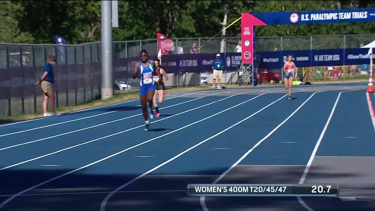 Para Track & Field Women's 400-Meter T20/45/47 Final   U.S. Paralympic Team Trials 2021