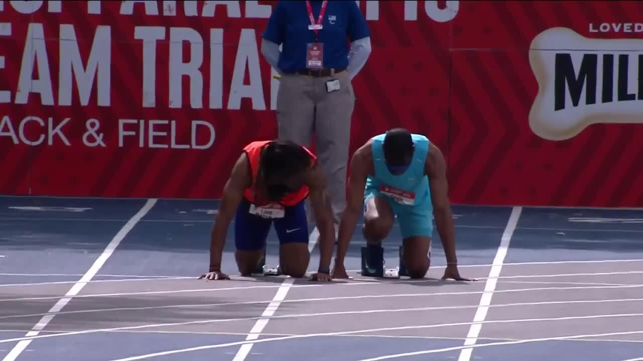Para Track & Field Men's 100-Meter T11 Final | U.S. Paralympic Team Trials 2021