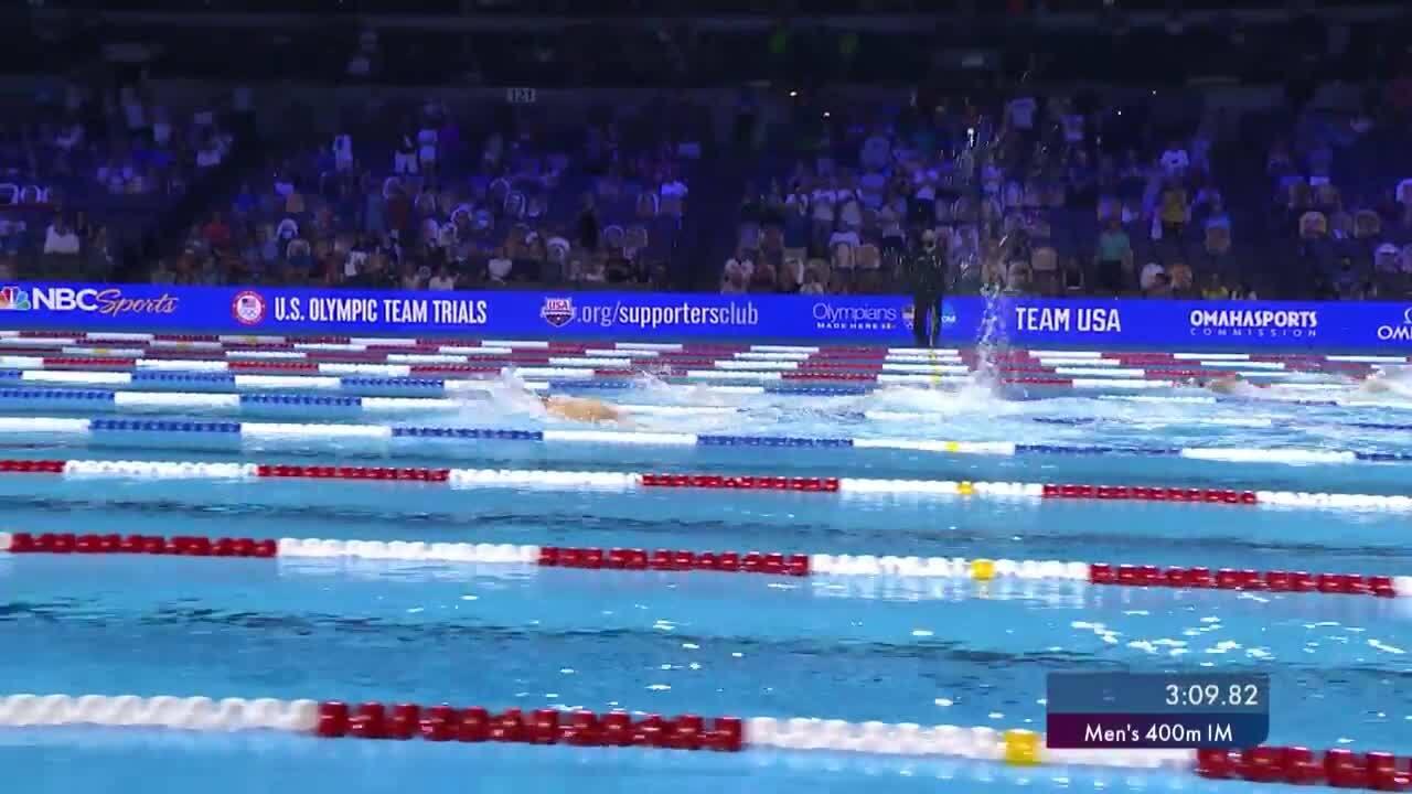 Chase Kalisz Men's 400m IM Final   Swimming U.S. Olympic Team Trials