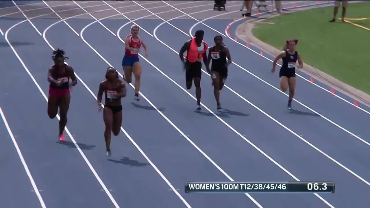 Para Track & Field Women's 100-Meter T12/38/45/46/47 Final | U.S. Paralympic Team Trials 2021