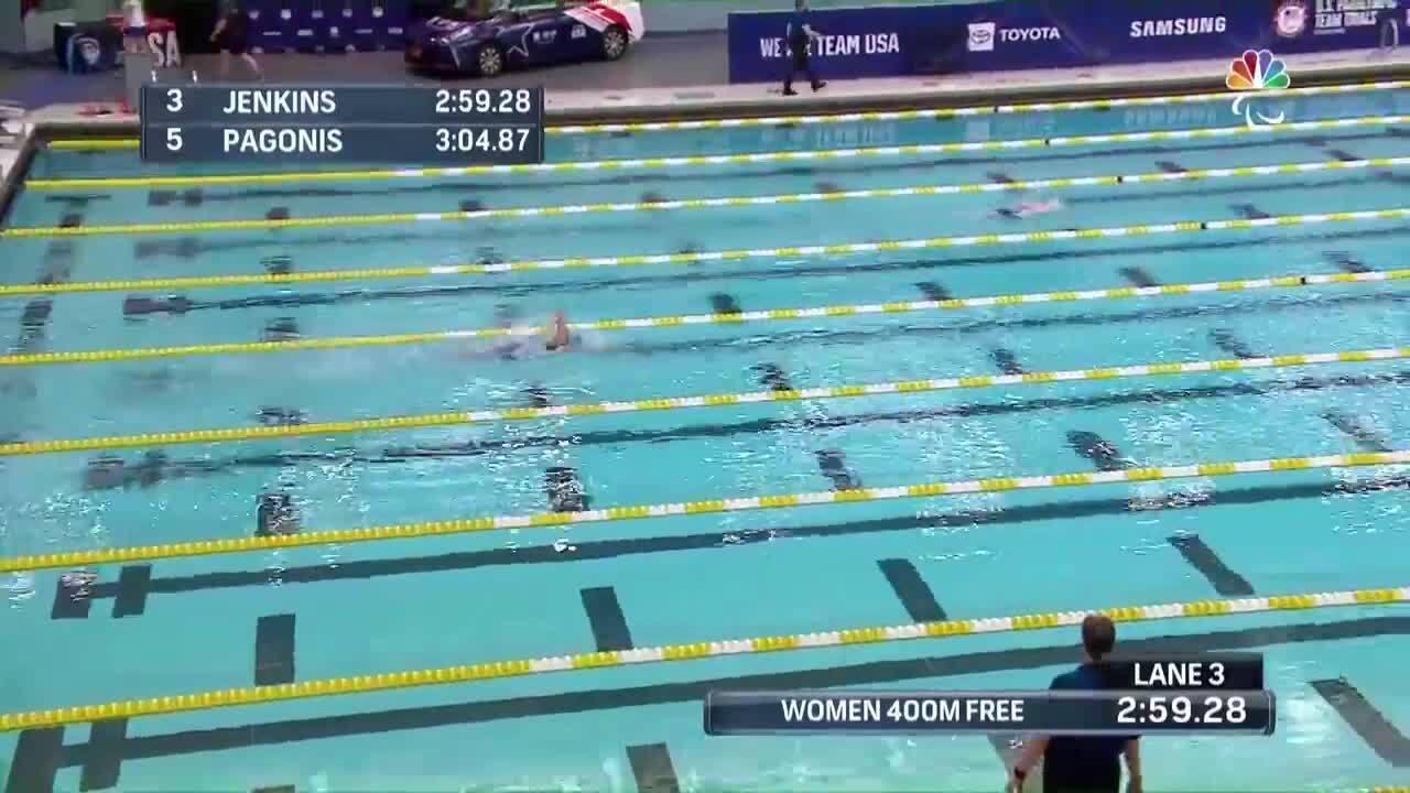 Para Swimming Women's 400-Meter Freestyle S10 Mikaela Jenkins | U.S. Paralympic Team Trials 2021