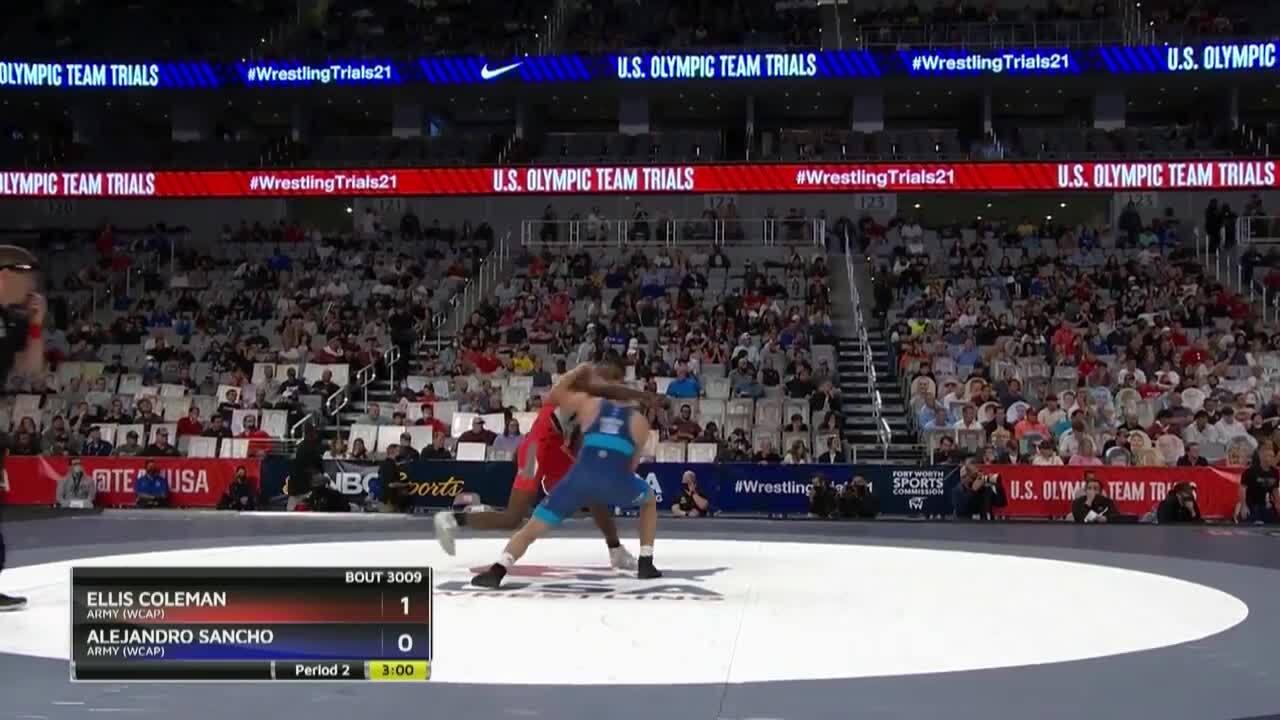 Alejandro Sancho VS Ellis Coleman - Greco-Roman (76 kg.) | Wrestling U.S. Olympic Team Trials 2020