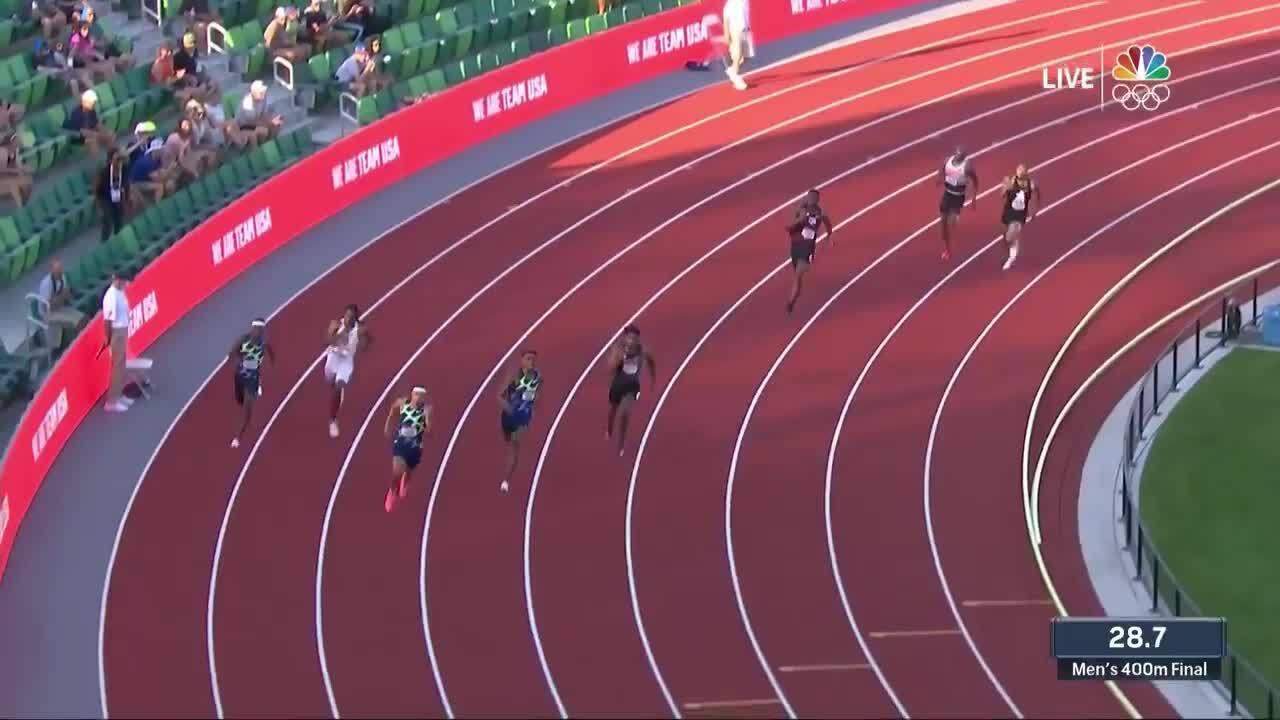 Michael Norman Mens 400M Final   Track & Field U.S. Olympic Team Trials 2021