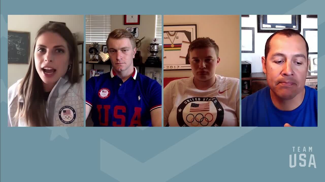 Connor Fields, Hannah Roberts, Oz Sanchez | Tokyo 2020 Team USA Virtual Media Summit