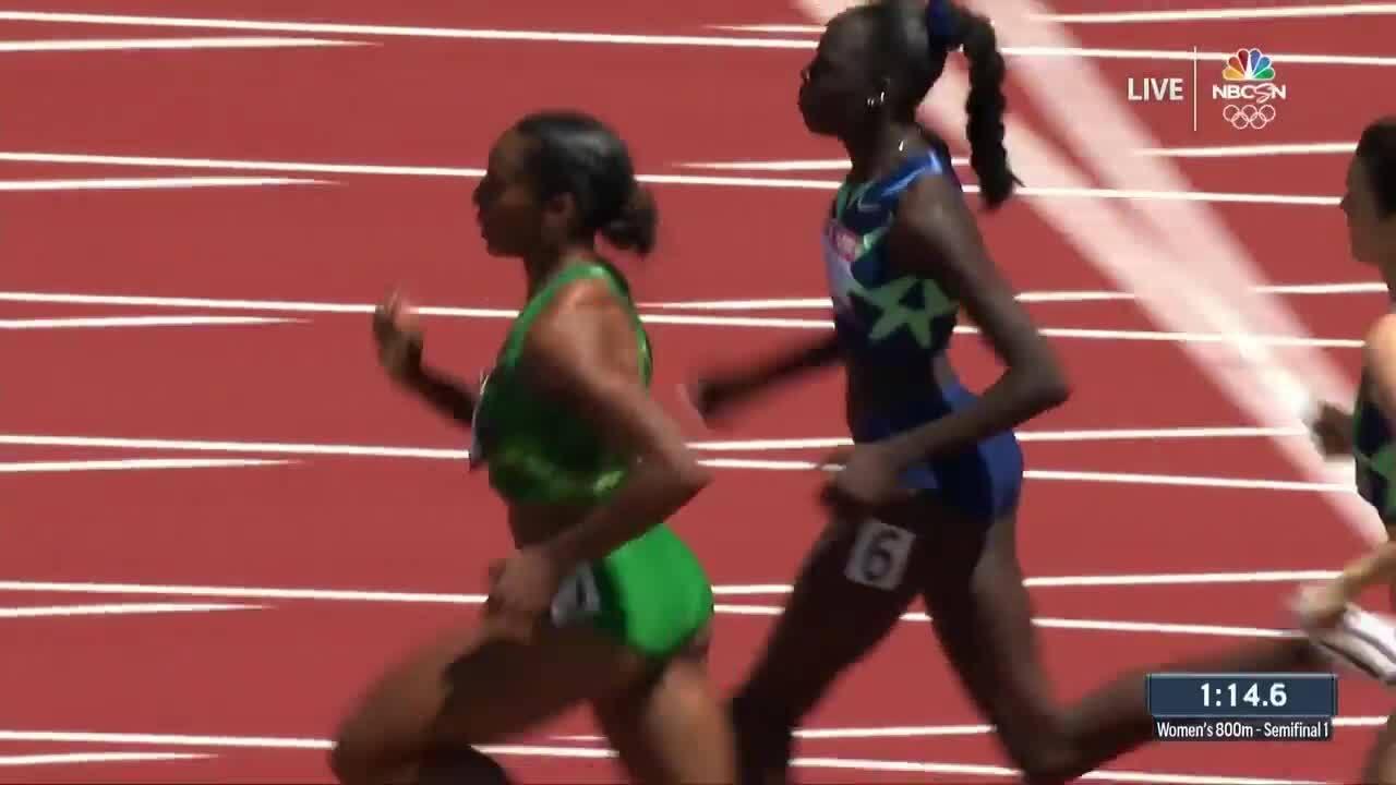 Women's 800-Meter Semifinal | Track & Field U.S. Olympic Team Trials 2021