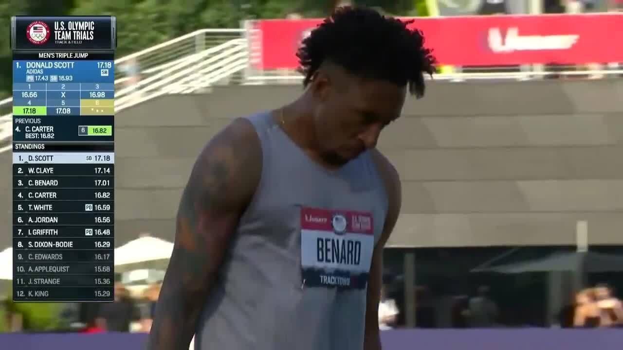 Will Claye Mens Triple Jump | Track & Field U.S. Olympic Team Trials 2021