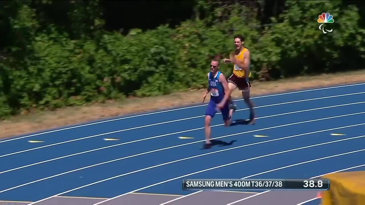 Para Track & Field Men's 400-Meter T36/37/38 Final | U.S. Paralympic Team Trials 2021
