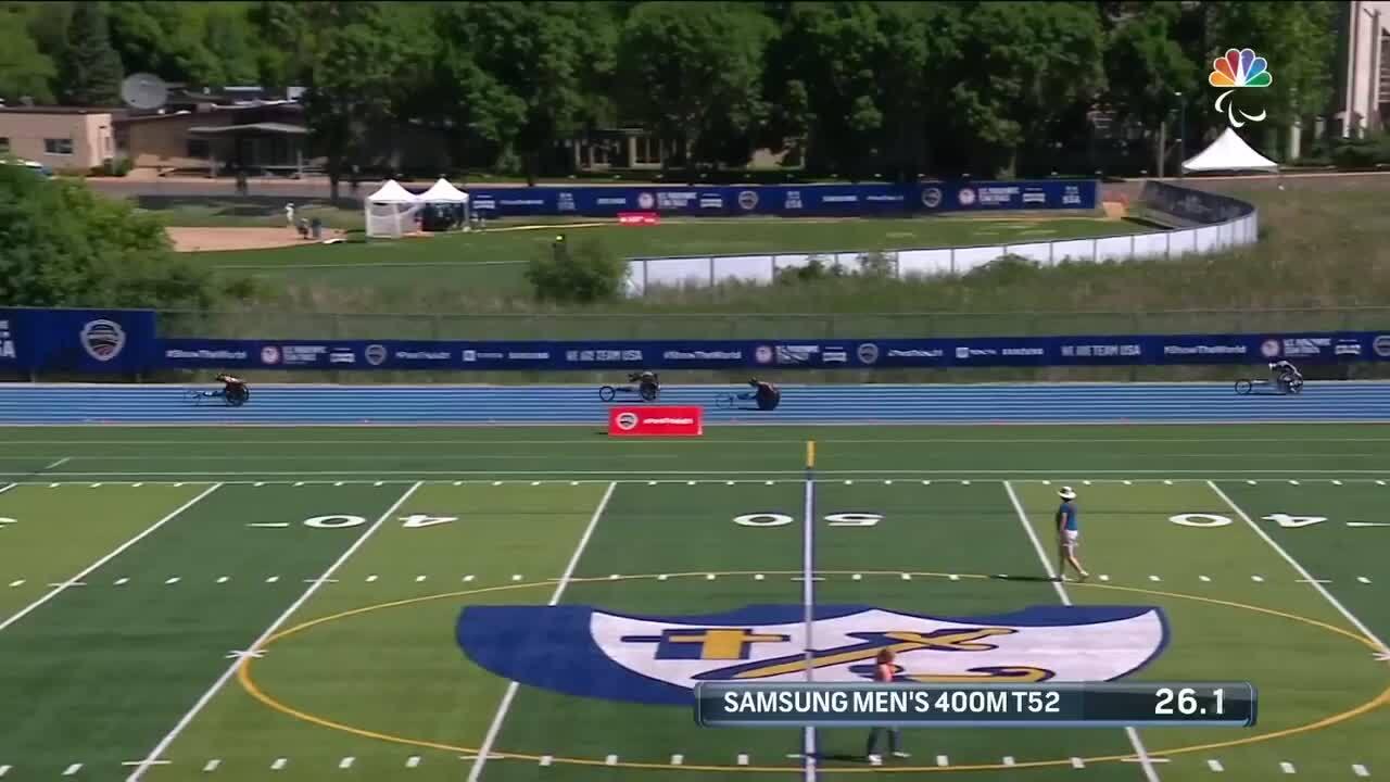 Para Track & FIeld Men's 400-Meter T52 | U.S. Paralympic Team Trials 2021