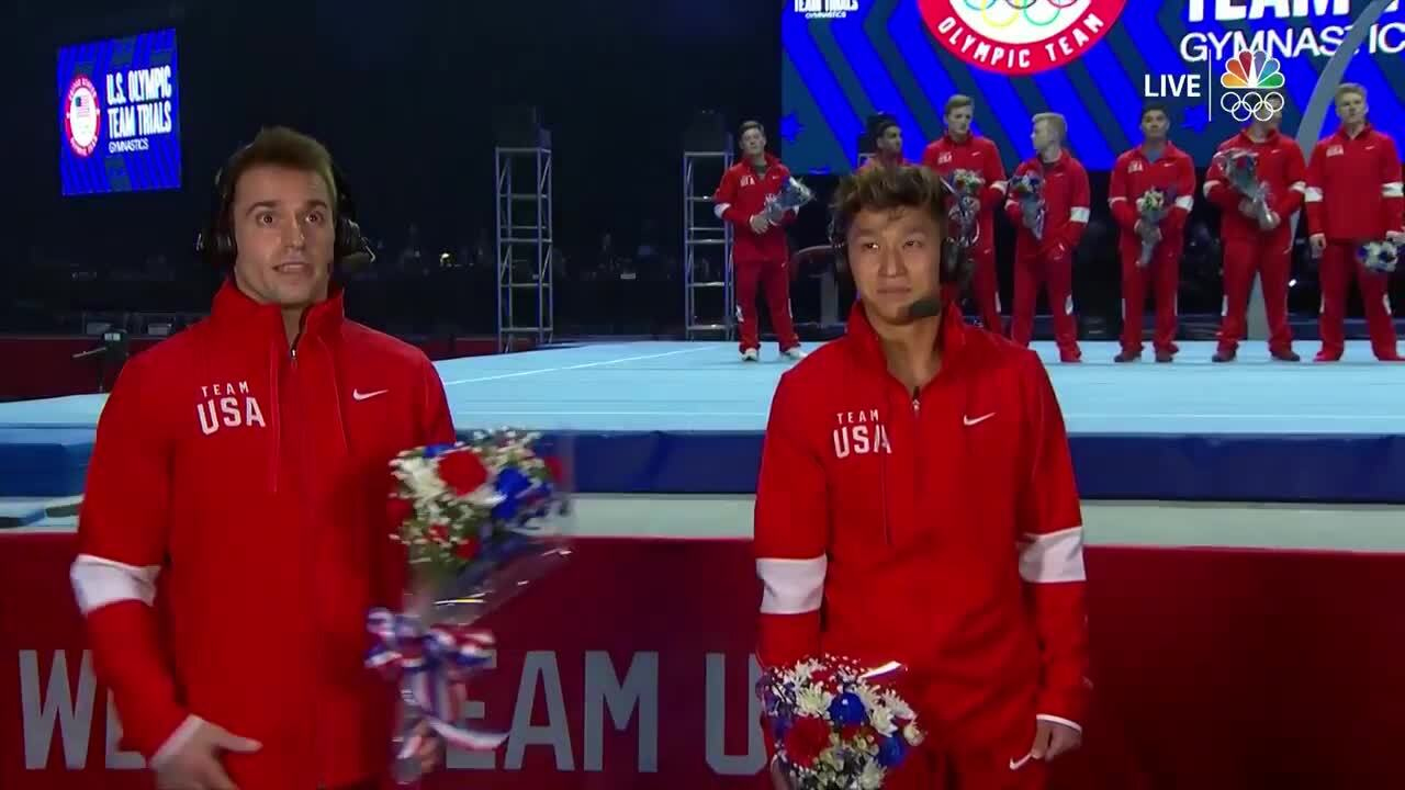 Sam Mikulak & Yul Moldauer Interview | Gymnastics U.S. Olympic Team Trials 2021