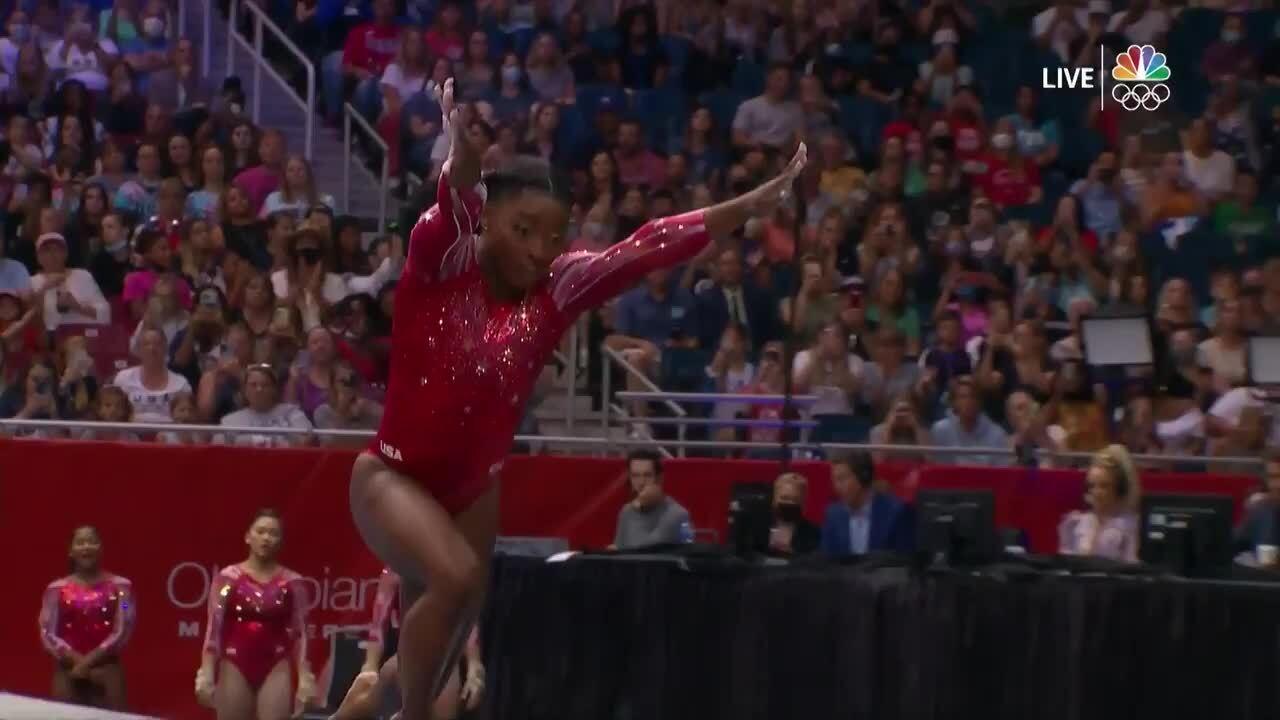 Simone Biles Vault Day 2 | Gymnastics U.S. Olympic Team Trials 2021