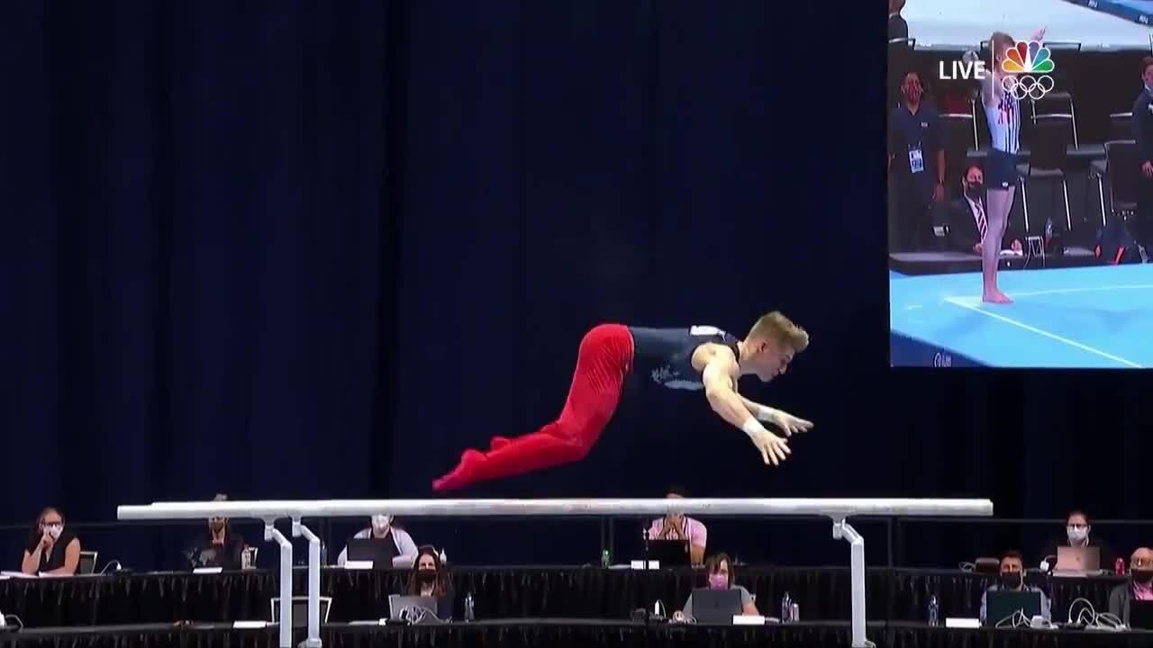 Shane Wiskus Parallel Bars Day 2 | Gymnastics U.S. Olympic Team Trials
