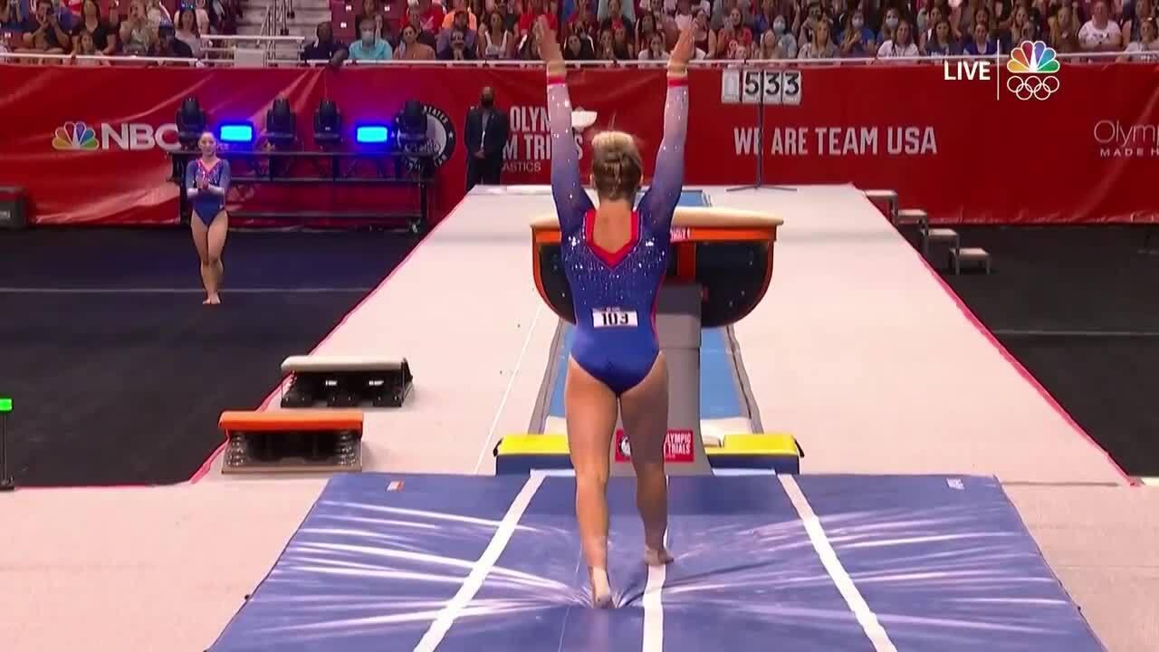 MyKayla Skinner Vault Day 2 | Gymnastics U.S. Olympic Team Trials 2021