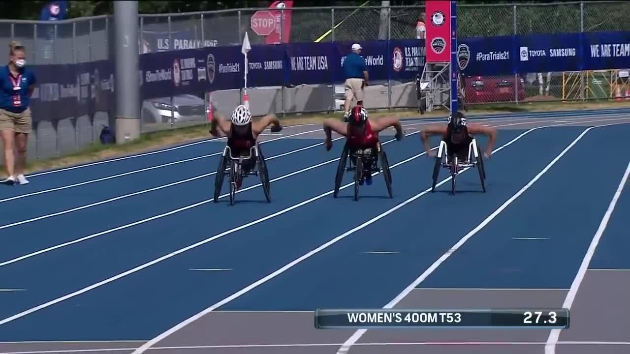 Para Track & Field Women's 400-Meter T53 Final | U.S. Paralympic Team Trials 2021