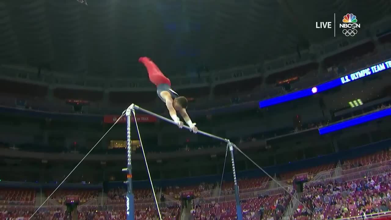 Brody Malone High Bar Day 1 | Gymnastics U.S. Olympic Team Trials 2021